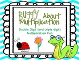 Buggy About Double Digit Multiplication!   5 Learning Stations