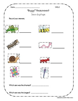 Buggy About Math-First Grade Common Core