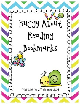 Buggy About Reading Bookmarks