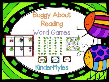 Buggy About Reading Word Games