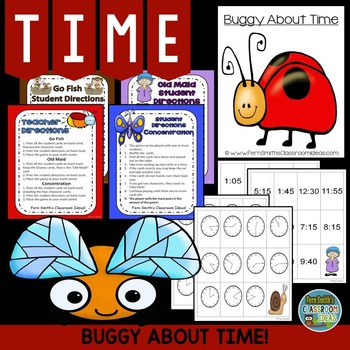 Time to the Five Minutes Math Center Games