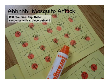 Buggy/Insect Activity Pack--prek & kindergarten