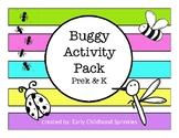 Buggy/Insect Activity Pack--prek & kindergarten