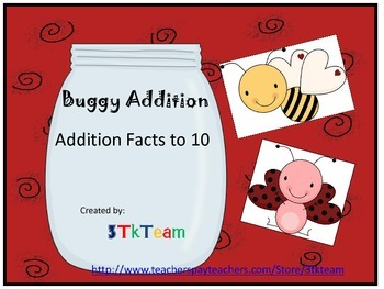 Buggy Addition Facts to 10