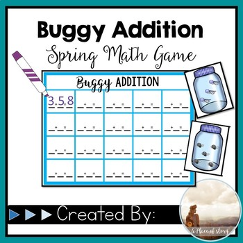 Buggy Addition (Math Center)