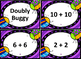 Buggy Addition Task Card Bundle: Grades K-2 Math Center or