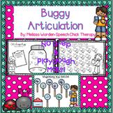 Buggy Articulation Activities