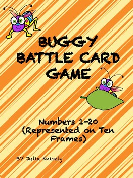 Buggy Battle! (Numbers 1-20) card game