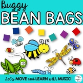 Buggy Bean Bag Activities and Games-  for Preschool, Music and Movement Classes.