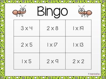 Buggy Bingo - Differentiated Maths Bingo