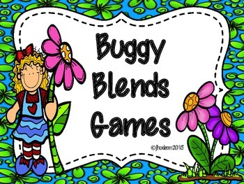 Buggy Blends Board Games----FREEBIE