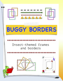 Buggy Borders: Insect-themed frames and borders