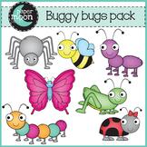 Buggy Bug Clip Art - Paper Moon Clip Art