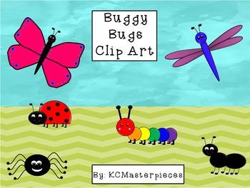 Buggy Bugs Clip Art