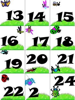 Buggy Calendar Numbers