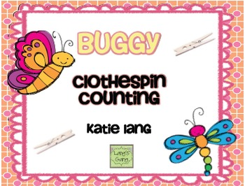 Buggy Clothespin Counting
