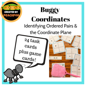 Buggy Coordinates: Identifying Ordered Pairs  & the Coordinate Plane