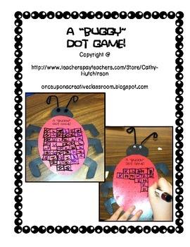 Buggy Dot Game