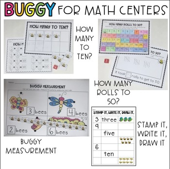 Buggy For Math Centers. Common Core Math Centers for Kindergarten/First Grade