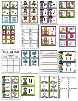 Buggy For Math and Literacy : Common Core Centers