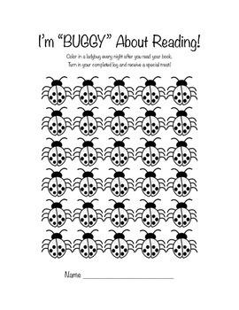 Buggy For Reading Book Log