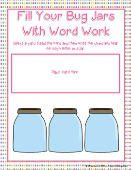 Buggy For Spring Time Word Work Galore-12 Activities Differentiated and Aligned