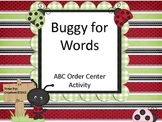 Buggy For Words ABC Order