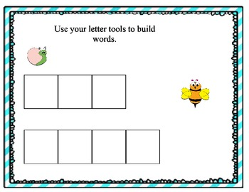 Buggy For Words (Activities to use for Intervention and Small Groups.)