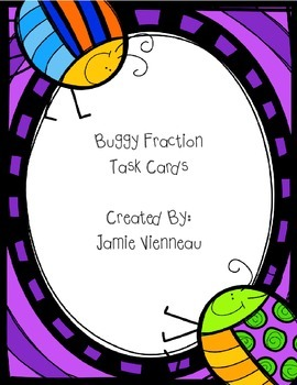 Buggy Fraction Task Cards