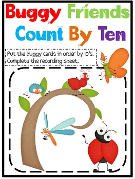 Buggy Friends Count By Ten