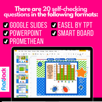 Buggy Graphs SMART BOARD Game - Common Core Aligned