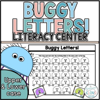 Buggy Letters {An Alphabet Identification and Matching Activity}
