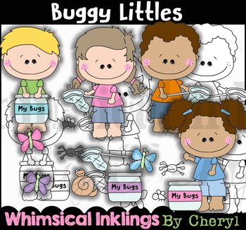 Buggy Littles Bug Clipart Collection