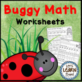 Bugs & Insects Math Worksheets, End of the Year Activities