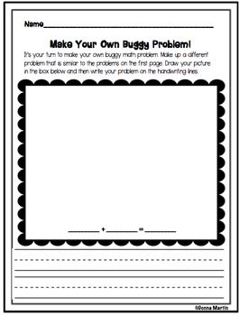 Buggy Math Addition Problem Solving