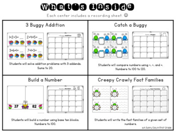 Buggy Math Centers!