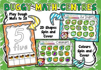 Buggy Math Centres!