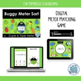 Buggy Meter Duple Triple Self-Checking BOOM Cards for Pape