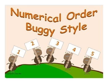 Numerical Order Buggy Style