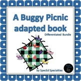 Buggy Picnic Colors adapted book bundle (3 differentiated books)