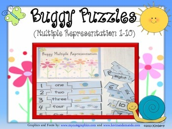 Buggy Puzzles (Multiple Representation 1-10)