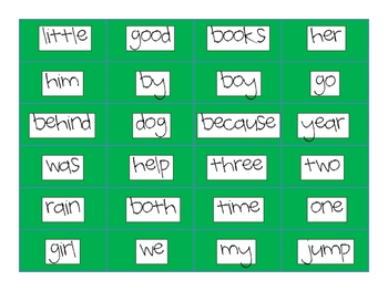 Buggy Sight Word Game