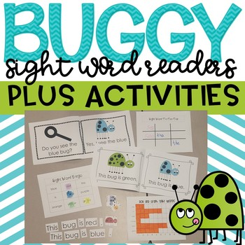 Buggy Sight Word Readers