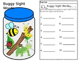 Buggy Sight Word Search