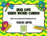 Buggy Sight Words for Posting Kindergarten Word List