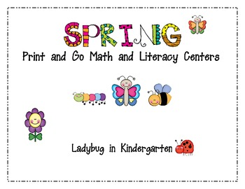Buggy Spring Print and Go Centers