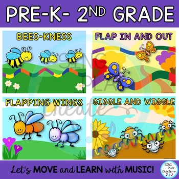 Buggy Stretchy Band Movement Activities for Music, P.E., Movement Classes