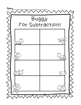 Buggy Subtraction Center
