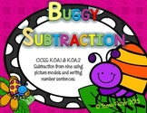 Buggy Subtraction Kindergarten Picture Subtraction