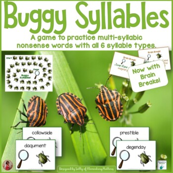 Reading Nonsense Words    Buggy Syllables